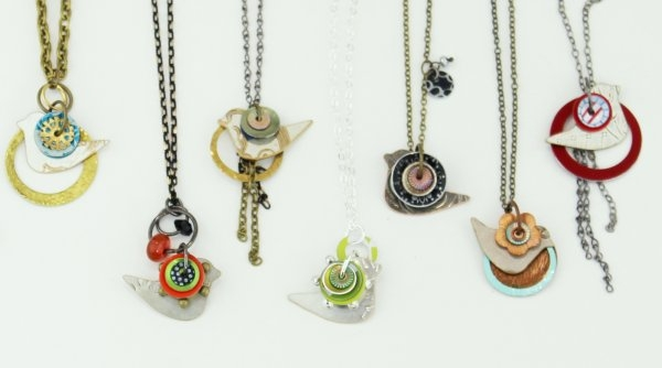 Lawrenz Birds of a Feather Necklaces