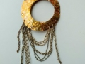 Circle Fringe Necklace